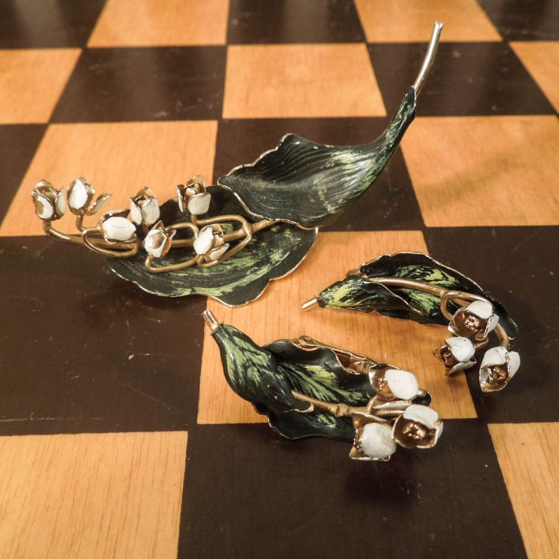 Vintage bijouteri smykkesæt