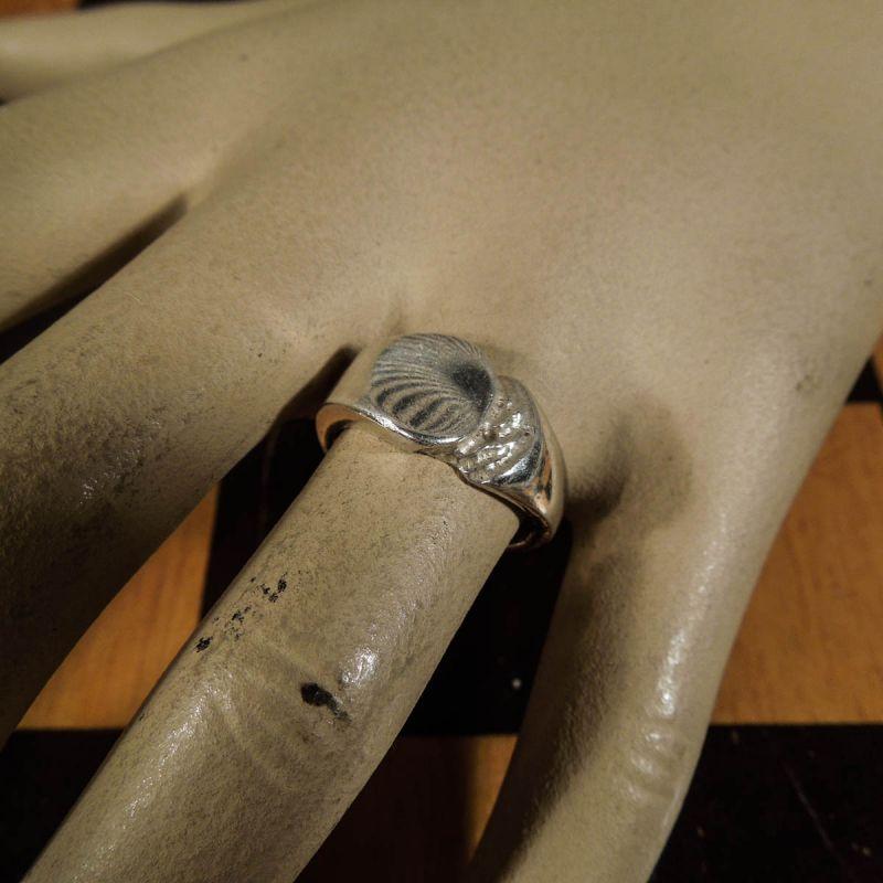 Super sød vintage ring i sterling sølv fra Herman Siersbøl! Ringstr. 54
