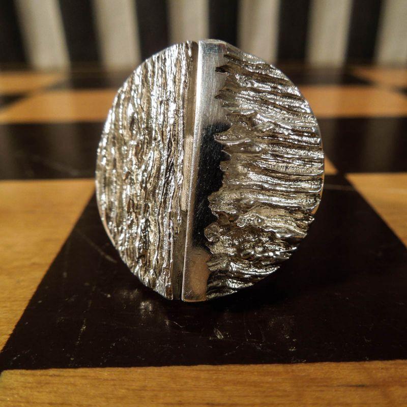 Den smukkeste vintage finger-ring i sølv designet og håndlavet af Knud V. Andersen!