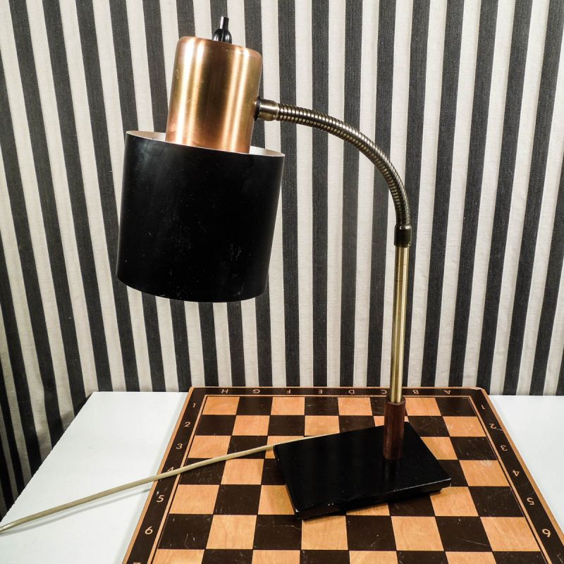 En super cool vintage bordlampe fra Jo Hammersborg, for Lyfa
