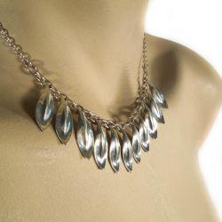 Vintage halskæde i sterling sølv.