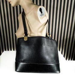 Super lækker vintage designer taske fra Guy Laroche i sort læder