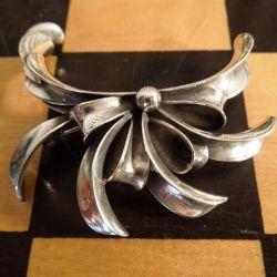Vintage sølv broche fra Viggo Wollny.