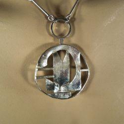 Vintage sølv hals-smykke fra Magnus G:son Liedholm