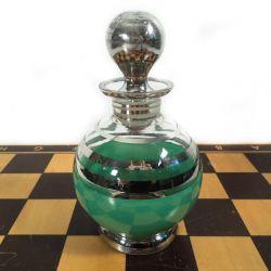 Vintage parfume flakon måske til badesalt/olie.