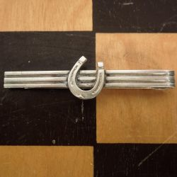 Vintage N.E.From Lykke-slipsenål i sterling sølv.