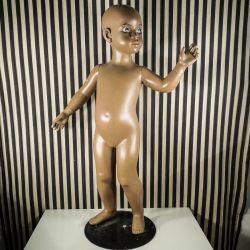 Verdens sødeste vintage børne-mannequiner fra Hindsgavl.