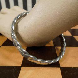 Vintage tin armbånd fra Jørgen Jensen