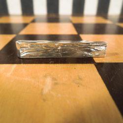 Lækker lille vintage slipsenål i sterling sølv fra Hingelberg