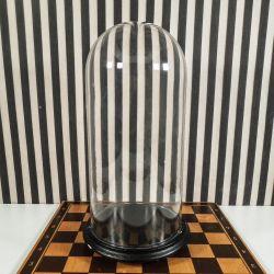 Fransk vintage kuppel med bobler i glasset!