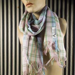 Vintage Valentino tørklæde i uld & smukke farver