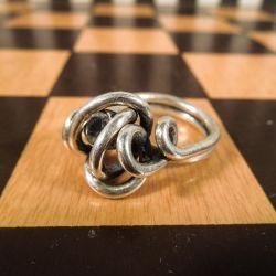 Top lækker sølv finger ring fra Rabinovich med stor klar sten!
