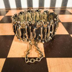 Vintage armbånd fra Pennti Sarpeneva i bronze!