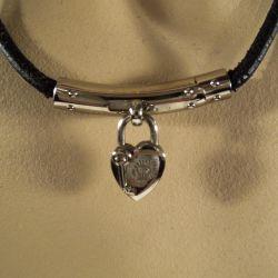 Hermés vintage halskæde - Viviride Heart Fantasy choker.