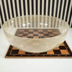 Vintage skål i gennemsigtig plastik fra Stelton! Sjælden!