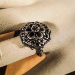 Antik sølv ring