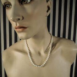 Vintage halskæde af Akoya perler