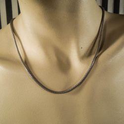 Bo G (Gindeberg) vintage halskæde i sterling sølv.