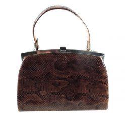 Luksus vintage pyton-taske