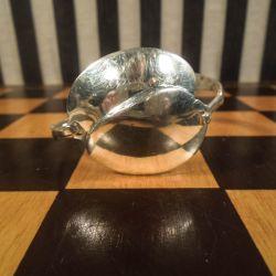 Vintage armbånd af ske i tretårnet sølv!