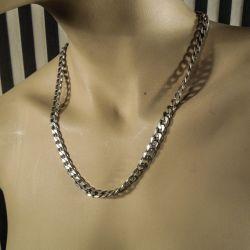 Vintage italiensk designer halskæde, til herre