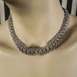 Vintage halscollier fra Viggo Wollny i sterling sølv!
