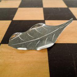Håndlavet vintage broche fra Ulrich i sterling sølv!