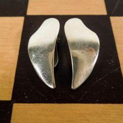 Vintage sterling sølv øreclips fra Aarre & Krogs Eftf.