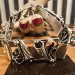 Det smukkeste sølv vintage armbånd fra C.A.Christensens Eftf.