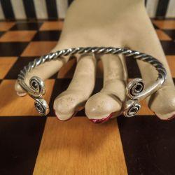 Vintage sølvarmbånd fra Aagaard.