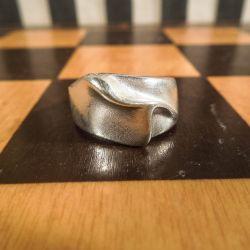 Aagaard ring i sterling sølv.
