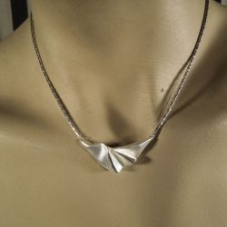 Vintage halskæde i sterling sølv fra Aagaard!