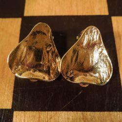 Vintage øreclips fra Yves Saint Laurent i bedste stand!