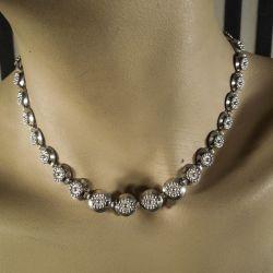 Vintage halskæde i sterling sølv fra Herman Siersbøl!