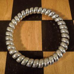 Vintage sølv designer armring fra A. Michelsen.