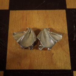 Vintage øreclips fra Aagaard i sterling sølv!