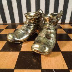Engelske vintage messing sko