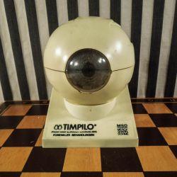 Super dekorativ vintage undervisnings-øje fra lægeklinik.