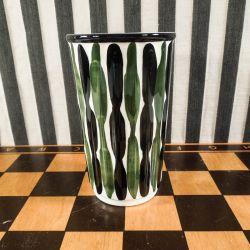 Aluminia Veronica Vase, designet af Nils Thorsson