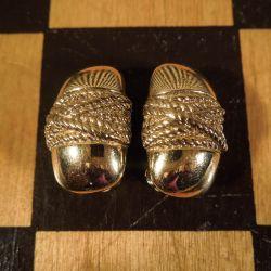Vintage designer øreclips fra Givenchy!