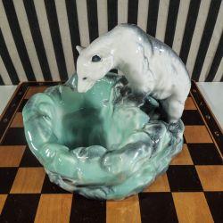 Flot, dekorativ Ditmar Urbach Isbjørn i perfekt stand!