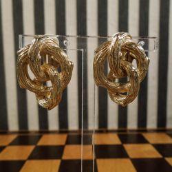 Originale vintage øreclips fra Givenchy (bijouteri)