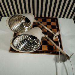 Super cool væglamper designet af Wilhelm Lauritzen for Louis Poulsen!