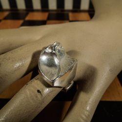 Den lækreste vintage sølv ring fra Lapponia (flex. str.)