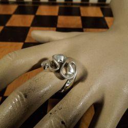 Aagaard vintage designer-ring i sterling sølv