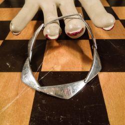 Peak vintage armlænke i sterling sølv fra Hans Hansen!