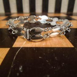 Vintage skønhed af en armlænke i sølv fra Volmer Bahner!