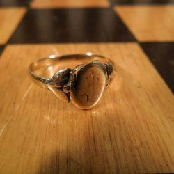 Fineste antikke dame-ring i guld!