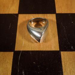 Super flot vintage designer ring i sterling sølv fra Bernhard Hertz
