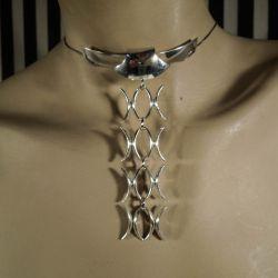 Det smukkeste smykke-slips fra N.E. From i sterling sølv!